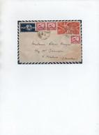 Enveloppe D' Indochine - Brieven En Documenten