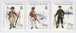 N 721) Falkland-Inseln Mi# 734-736 **: Königliche Marine - Falkland Islands