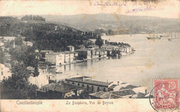 TURQUIE CONSTANTINOPLE LE BOSPHORE VUE DE BEYCOS - Turchia