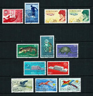 Surinam (Holandés) LOTE Usado - Surinam ... - 1975