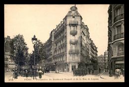 75 - PARIS 7EME - PERSPECTIVE DU BOULEVARD RASPAIL ET DE LA RUE DE LUYNES - EDITEUR N.D. PHOTO N°3718 - Distretto: 07