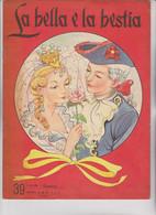 "CASA EDITRICE "" A. M. Z.  "" . MILANO. N°39   -  LA BELLA E LA BESTIA - Tales & Short Stories"