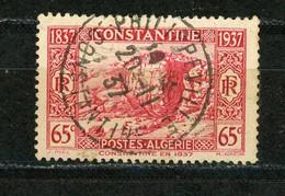 ALGERIE - CONTANTINE N° Yvert 131 Obli. Ronde De PHILIPPEVILLE - Gebraucht