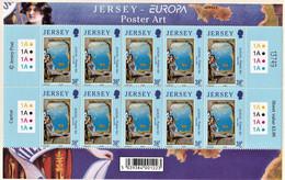 JERSEY  2003   EUROPA CEPT  UNIF. 1103/04  MNH - 2003