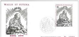 FDC   Wallis Et Futuna 632  YT  100 NOËL 1979 - FDC