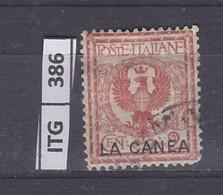 ITALIA      1906 ITALIA LA CANEA 2 C Usato - Zonder Classificatie