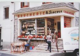 CPM 48 NASBINALS ... Boucherie Charcuterie SOUCHON (Livenais JE070808) Marchand De Paniers - Sonstige Gemeinden