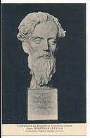 CPA 49 ANGERS Carte Rare Envoi Familial De Mérodack Jeaneau Sculpture Portrait Du Peintre Mattéo Olivero - Angers
