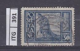 ITALIA     1929 ITALIA RODI 30 C Usato - Zonder Classificatie
