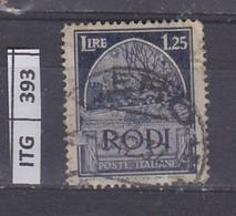 ITALIA      1929 ITALIA RODI 1,25 Usato - Zonder Classificatie