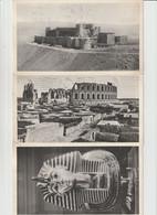 """Reclamekaarten  """" Ionyl Arthritisme """" -- Tunesie , Egypte , Liban --- Met Zegels ---- 3 Kaarten - Advertising"""