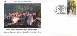 India  2016  Loreto Convent School  Tara Hall  Shimla  Special Cover   #  31788 D   Inde  Indien - Cartas