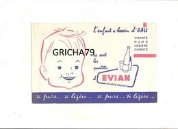 BUVARD - EAU EVIAN - L ENFANT A BESOIN D EAU - Kids