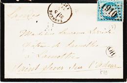 France, De Labrede   Type 16 En 1871 GC 1910 Sur N°60  Ind 7 TB - 1849-1876: Periodo Classico