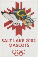 USA Postcard 2002 Salt Lake Olympic Games - Mint (G123-77) - Winter 2002: Salt Lake City