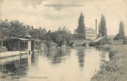 SERQUIGNY - Sur La Charentonne, Lavoir. - Serquigny