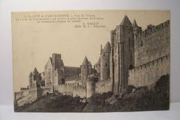 LA CITE De CARCASSONNE   - Vue De L'Ouest - Carcassonne