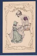 CPA Vienne Type Art Nouveau Femme Women Non Circulé MM VIENNE 128 - Mujeres