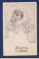 CPA Vienne Type Art Nouveau Femme Women Circulé - Mujeres