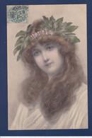 CPA Vienne Type Art Nouveau Femme Women Timbré Non Circulé MM VIENNE 228 - Mujeres