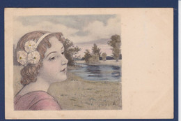 CPA Vienne Type Art Nouveau Femme Women Non Circulé MM VIENNE 251 - Mujeres