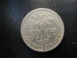 Begian Congo Kongo 50 Ct 1921 - 1910-1934: Albert I