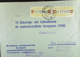 Fern-Bf Mit ZKD-Streifen Lfd.Nr: =L 1379667/8= 25.10.59 Abs: VE Empfangs- U Absatzbetrieb F. Importe...Berlin Knr:25L(2) - Service