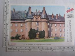 Vieux Papiers > Buvard Buvards Biscottes Allégées Grégoire Château De Pompadour 19 Corrèze - Bizcochos