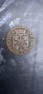 MONNAIE COIN FRANCE FEODALES ARDENNES CHARLES DE GONZAGUE LIARD CHARLEVILLE 1609 - 476 – 1789  Periodo Feudale