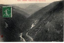 CORREZE-  LAPLEAU- VALLEE DE LA LUZEGE- ROUTE DE LAVAL -ANIMEE - Andere Gemeenten