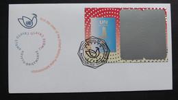 UNO-Genf 2020 Krypto-Briefmarke FDC - FDC