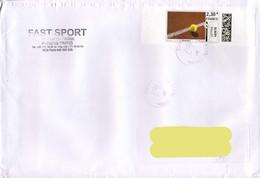 France 2012, Tennis On A Cirdulated Cover. - Tennis