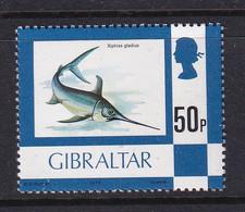 Gibraltar: 1977/82   Flowers / Fish / Birds / Butterflies     SG387    50p       MNH - Gibraltar