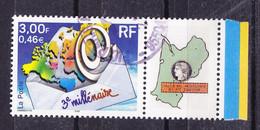 Timbre Personnalisé N°3365A Avec Logo Privé, Oblitéré AMICALE DES PHILATELISTE DES PTT AQUITAINE - Personalizzati