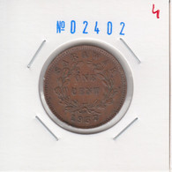 Sarawak 1 Cent 1937 Km#18 - Altre Monete