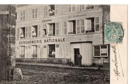 LOUVRES - Gendarmerie Nationale - Louvres