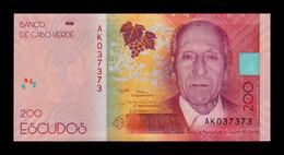 Cabo Cape Verde 200 Escudos 2019 (2021) Pick New SC UNC - Cap Verde