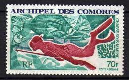 Comores P.A. N° 44  XX  Chasse Sous-marine Sans Charnière, TB - Unused Stamps