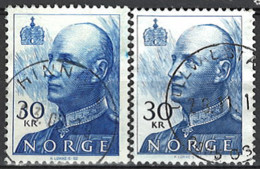 Norwegen Norway 1994/2010. Mi.Nr. 1169 A + 1169 C, Used O - Gebruikt