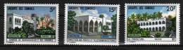 COMORES N° 84 / 86 XX  Bâtiments Administratifs - Unused Stamps