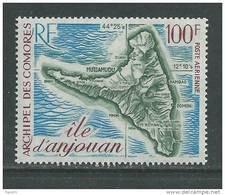 Comores P.A. N° 49  XX  Carte De L'ile D'Anjouan  Sans Charnière, TB - Unused Stamps