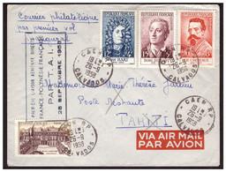 1 Ere Liaison Aérienne FRANCE POLYNESIE FRANCAISE  Par T A I  Le 28.9.58. - Unclassified