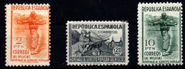 España Nº 797, 798, 800. Año 1938 - 1931-50 Neufs