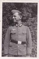 Photo Originale : Militaire - Militaria : Soldat Allemand Régt. à Identifier : 9cm X 6cm - Dentelée - Krieg, Militär
