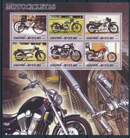 NN - D - [400915]TB//**/Mnh-NN-Guinée-Bissau 2005 - Motocyclettes Anciennes - Motorfietsen