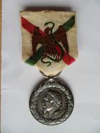 Médaille Du Mexique Signée EF - Before 1871