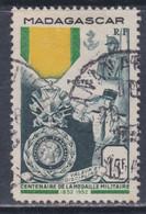 Madagascar N° 321 O : Centenaire De La Médaille Militaire Oblitération Moyenne Sinon TB - Oblitérés