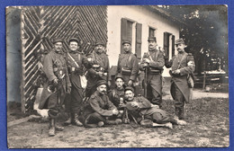 CARTE-PHOTO MILITARIA - Soldats Du 103ème RI - ALENCON - 1911 - Regiments