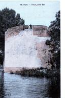 Ham Somme - Château 15 Tour Coté Est (couleur Toilée) - Ham