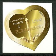 France - 2019 - Autoadhésif Neuf - Coeur Boucheron Monnaie- No AA1670 - Cote 6,50 Euros - Adhésifs (autocollants)